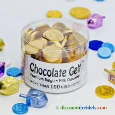 hanukkah chocolate coins 100 gold chocolate coins for chanukah