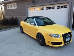 lexus yellow convertible super rare imola yellow rs4 convertible rare cars for sale
