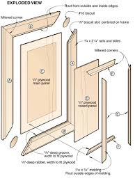 How To Make A Raised Panel Cabinet Door How To Make Raised Panel Cabinet Doors Cabinet Doors