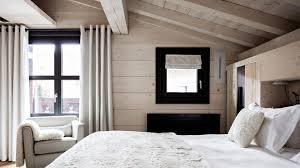 chambre hotel luxe alpaga