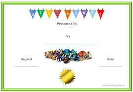 certificate free templates best images of reward for good behavior certificates free