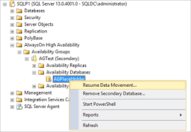 T Sql Resume Recover Wsfc Using Forced Quorum For Sql Server Alwayson