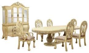 wyndmere royal presence cherry finish formal dining room table 7