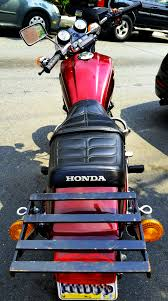 85 honda nighthawk 450 from the rear motorcycles pinterest