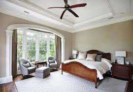 sherwin williams softer tan for a traditional bedroom with a