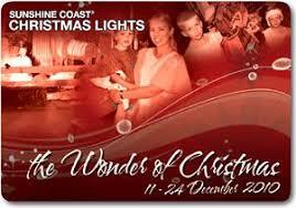 sunshine coast christmas lights u0027the wonder of christmas u0027 sunshine