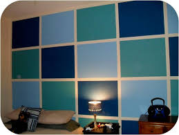 Painted Walls Block Painted Wall Idea Makes Those Ugly Block Walls Pop