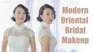 modern oriental bridal makeup tutorial this makeup tutorial will show you how to create a modern