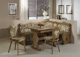 Corner Kitchen Table With Storage Bench Kitchen Good Corner Kitchen Table With Bench In White Finish