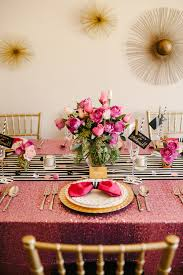 Pink Table L A Chic And Swanky Kate Spade Inspired Dinner The
