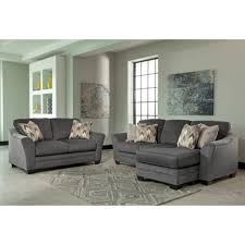 Circa Taupe Sofa Chaise Living Room Faux Leather Sectional Sofa Ashley Has One Of The