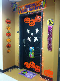 College Door Decorations Galvanized Wash Tub Planters Fun Halloween Front Door Decorations