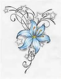 star and flower tattoo designs collection 82