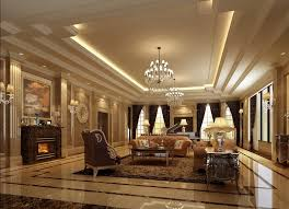 luxurious interior of living room house decor picture
