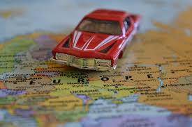 European Country Map by Red Die Cast Car On Europe Country Map Free Image Peakpx