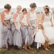 tulle skirt bridesmaid personalized bridesmaid skirt nature waistline a line floor length