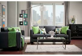 Fabric Living Room Furniture by Sm3050 Furniture Of Amercia Lasso Living Room Collection Gray