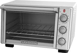 Toast In Toaster Oven Black U0026 Decker 6 Slice Toaster Oven Silver To2050s Best Buy