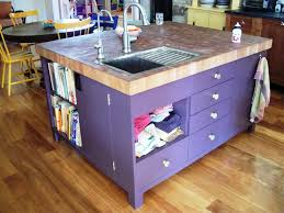 kitchen island with sink for sale glass front cabinets black
