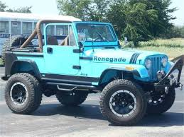 renegade jeep cj7 1980 jeep cj7 for sale classiccars com cc 994041
