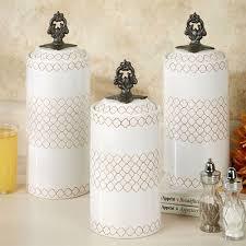 white kitchen canister set safiya moroccan white kitchen canister set