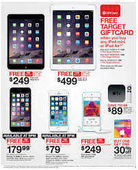 sale ads for target black friday here are target u0027s black friday apple deals ipad air 2 w 140 gc