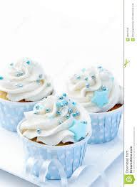 baby shower cupcakes stock photo image 58027426