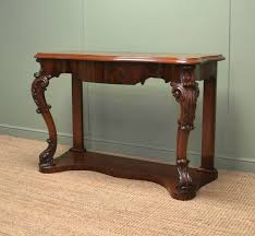 Mahogany Console Table High Quality Antique Mahogany Console Table Antiques World