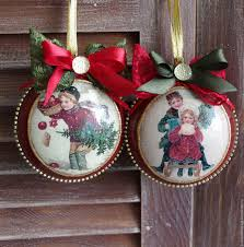 buy christmas medallions decoupage on livemaster online shop
