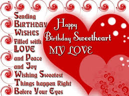 Happy Birthday Wishes To Sms Birthday Wishes For Boyfriend Romantic Lovely Message