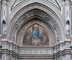Mosaique Del Sur File Tympanum Right Mosaic Santa Maria Del Fiore Florence Jpg