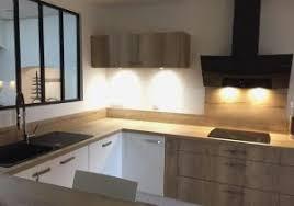 photo cuisine en bois cuisine blanche et bois luxury deco cuisine blanc et bois gris