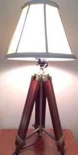 Drafting Table Light Fixtures Nautical Wood Table Lamp Foter