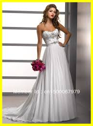 Red And Silver Wedding White And Silver Wedding Dresses Luxury Brides