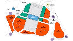 Dodger Stadium Parking Map Season Ticket Member Parking Map Mlb Com