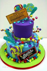 custom cakes birthday cakes new jersey willy wonka custom cakes theme