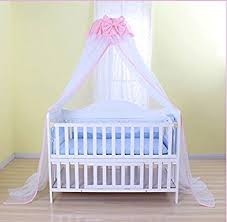 Bed Crib Baby Mosquito Net Baby Toddler Bed Crib Dome Canopy