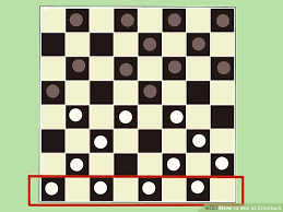 how to win at checkers 12 steps with pictures wikihow