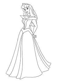 belle au bois dormant 1 sleeping beauty coloring pages