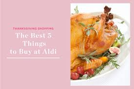 the 5 best things to buy at aldi for thanksgiving kitchn
