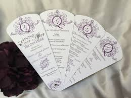 petal fan programs royal elegance petal fan wedding program the wedding sophisticate