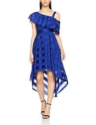coast dress coast women s elspeth dress blue cobalt blue 6 co uk