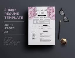 Floral Designer Resume Sample by 26 Best Floral Cv Resume Templates Images On Pinterest Resume