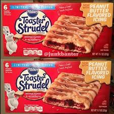 toaster strudel peanut butter and strawberry food products