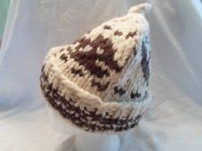 cowichan hat white buffalo wool toque hat cap cowichan style by hatboxpantry