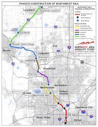 Denver Rtd Map Northwest Rail Line Phasing