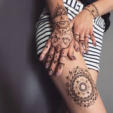 henna on thigh best henna design ideas