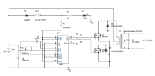 simple 100w inverter circuit diagram and its working for schematic