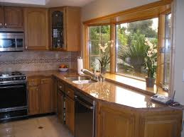 Big Kitchen Design Ideas Bay Windows Large Kitchen Design And On Pinterest Idolza