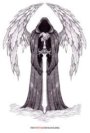 40 best angel of death tattoos u0026 designs with meaning